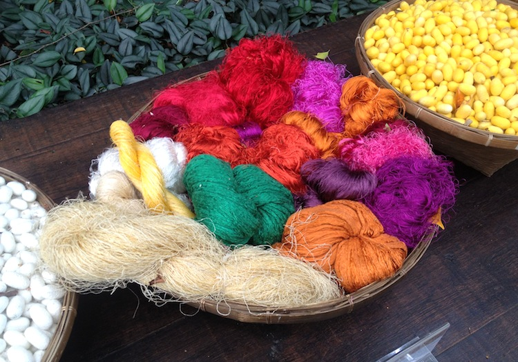 Thai Silk Yarn - Jim Thompson House
